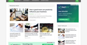 Fastify Blogger Template Free Download