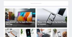 GNews Responsive Magazine Blogger Template Free Download