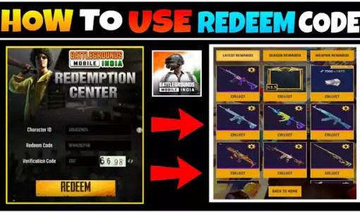 [October 2021] BGMI Redeem Codes M416, AKM, Scar-l M762 Skins [Battleground Mobile India]