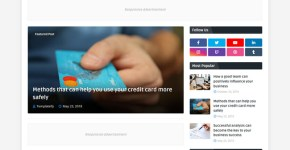 Topify Blogger Template Free Download