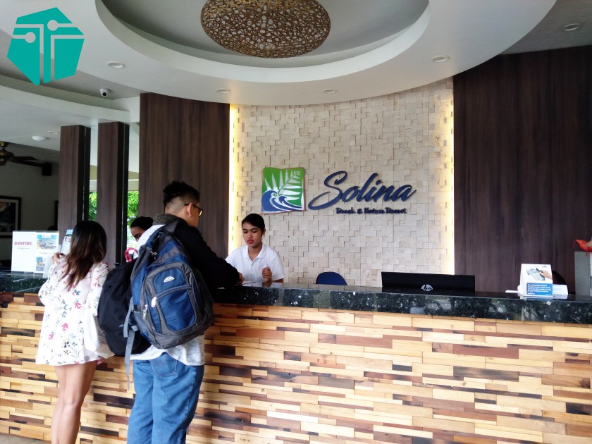 A photo from our Capture Capiz and Iloilo Tour. This is the Solina Beach & Nature Resort front office.