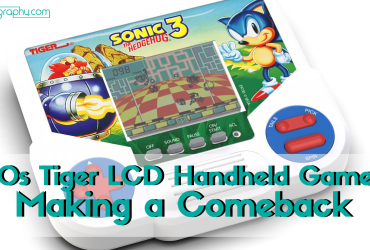 90s Tiger LCD Handheld Games Making a Comeback