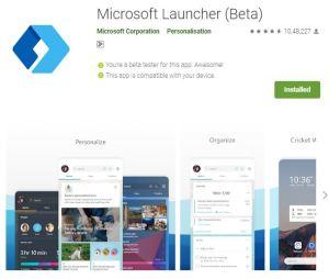 Microsoft launcher. best launcher for 2020. https://techtool360.com