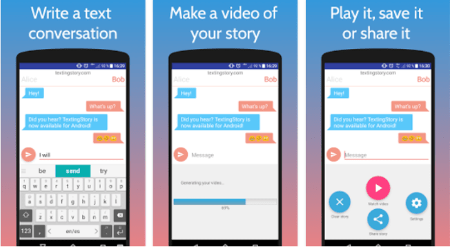 Texting Story for PC