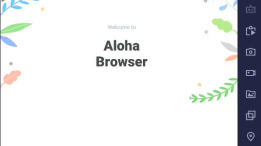 Aloha Browser Turbo for PC