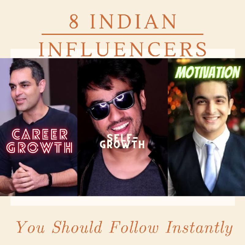 8 Indian influencers you should follow