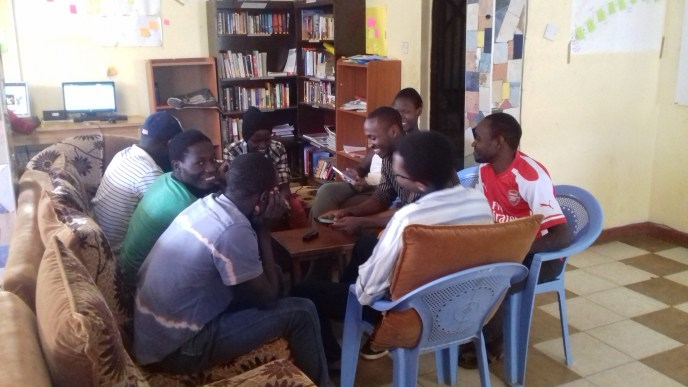 Apart from making podcast and other audio-visual resources, it has started recording discussions that that they host on soundcloud. The discussions are always centered on current affairs and other issues affecting local people