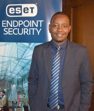 Teddy Njoroge, Country Manager for ICT security solutions company, ESET East Africa.