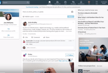 Photo of LinkedIn just made a huge redesign to its website, take a look