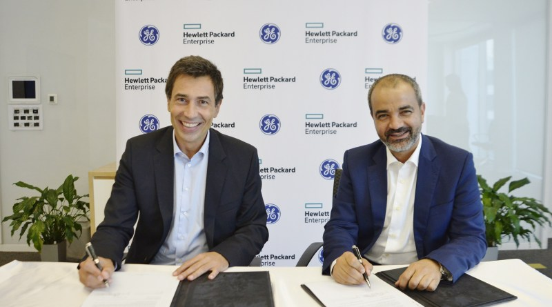 GE Partners with Hewlett Packard Enterprise for Digital Solutions across MEA and Turkey