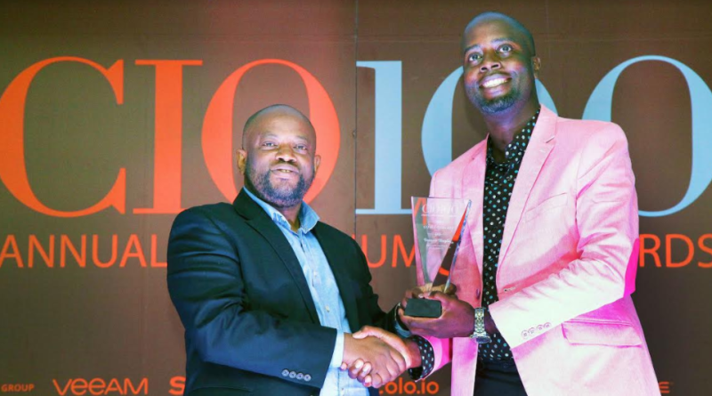 NTSA's IT Lead crowned CIO of the year at the 2017 CIO100 Awards