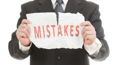 Photo of 8 Common Mistakes That You Need to Avoid as a New Entrepreneur