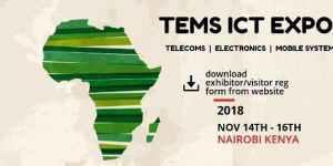 Telecom, Electronic, Mobile and Systems( TEMS )ICT Expo @ Kenyatta International Conference Centre  Harambee Avenue  Nairobi City, Nairobi County