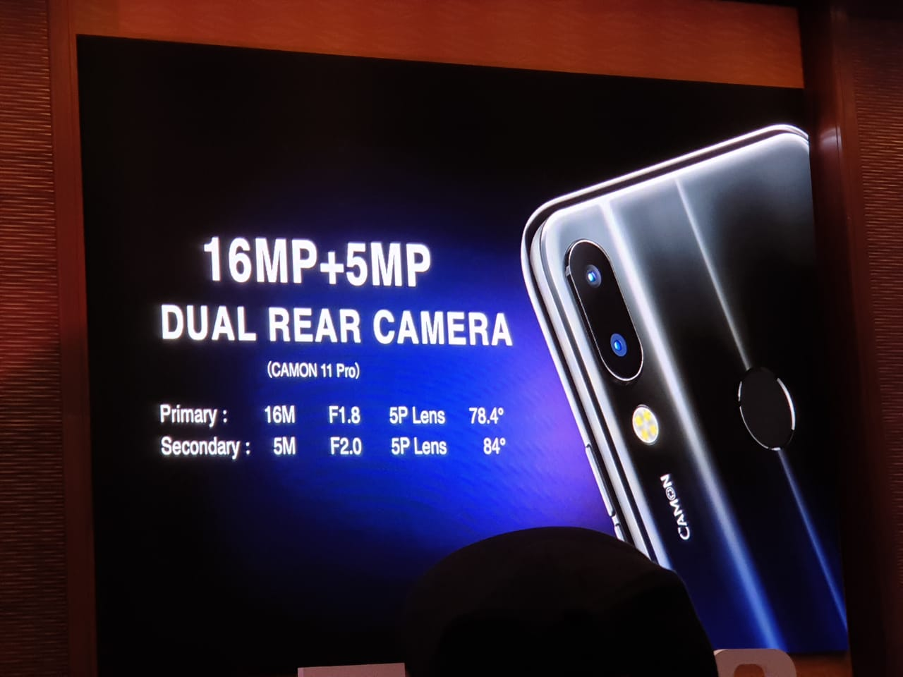 TECNO Camon 11 Pro & Camon 11 with AI officially launched in