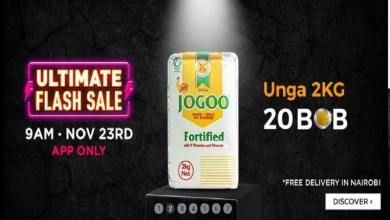 Photo of Jumia Ultimate Black Friday 2018 deals revealed: Groceries, TVs, Phones — and Unga for Ksh.20 bob