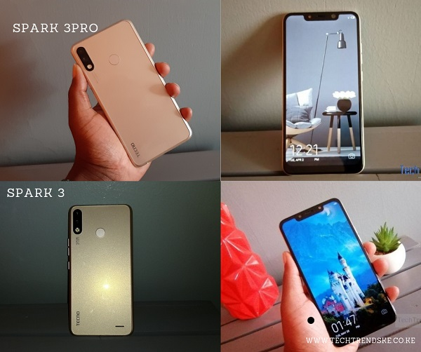 Tecno Spark 3 Vs Spark 3 Pro comparison - TechTrendsKE