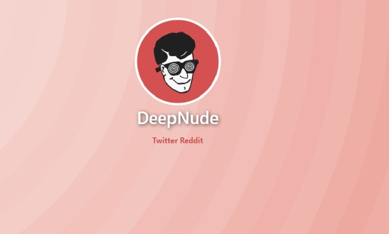 DeepNudes webiste