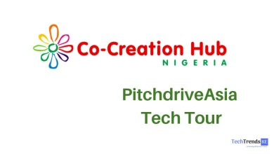 Photo of Ten African tech startups taking part in the CcHUB's PitchdriveAsia Tour