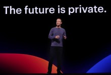 Facebook CEO Mark Zuckerberg at F8 Conference