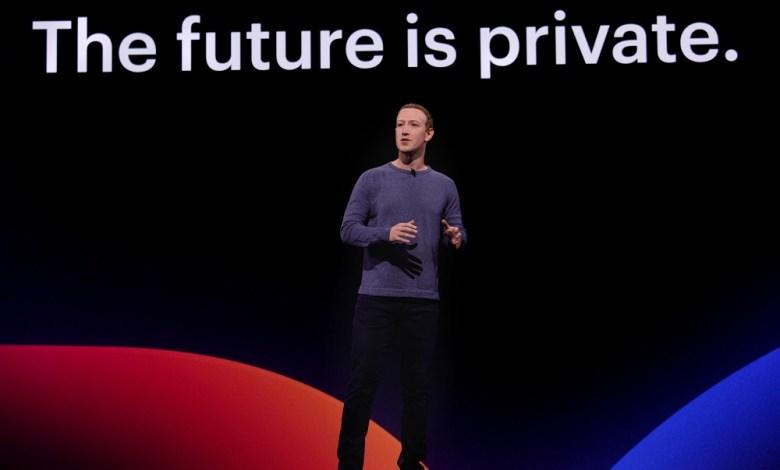 Facebook CEO Mark Zuckerberg at F8 Conference