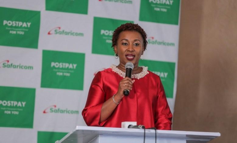 Safaricom Chief Customer Officer, Sylvia Mulinge