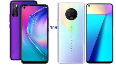 TECNO Camon 15 Vs Infinix NOTE 7