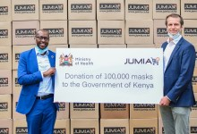 Photo of Jumia donates 100,000 masks to the government to help fight Covid-19