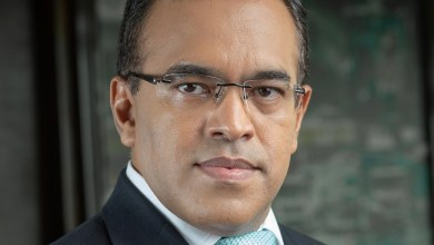 Safaricom CFO, Sateesh Kamath.