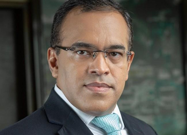 Safaricom CFO, Sateesh Kamath.