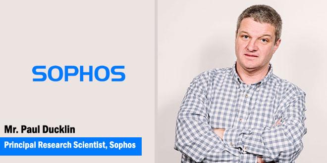 Paul Ducklin, principal research scientist, Sophos