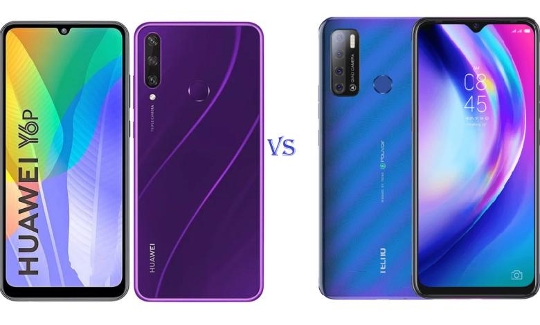Huawei Y6p and TECNO Pouvoir 4