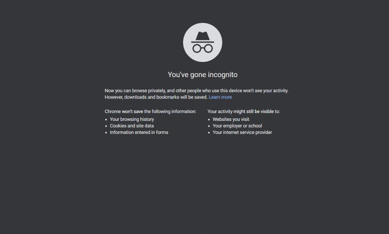 Incognito Mode Chrome