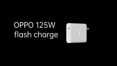 OPPO VOOC 125W flash charge