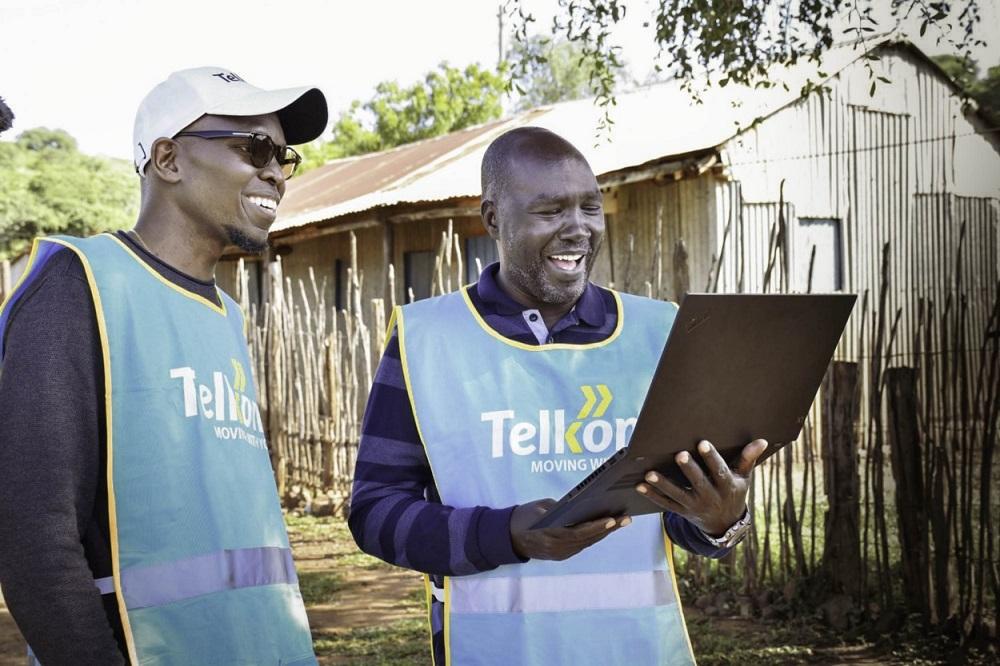 Telkom execs at Loon launch