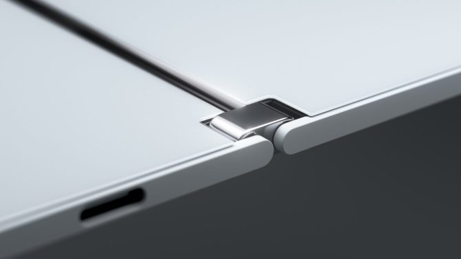 Surface Duo side view