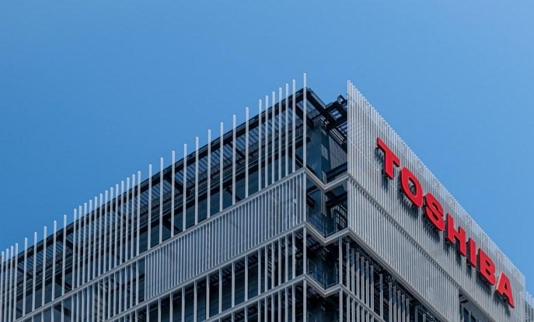 Toshiba building photo