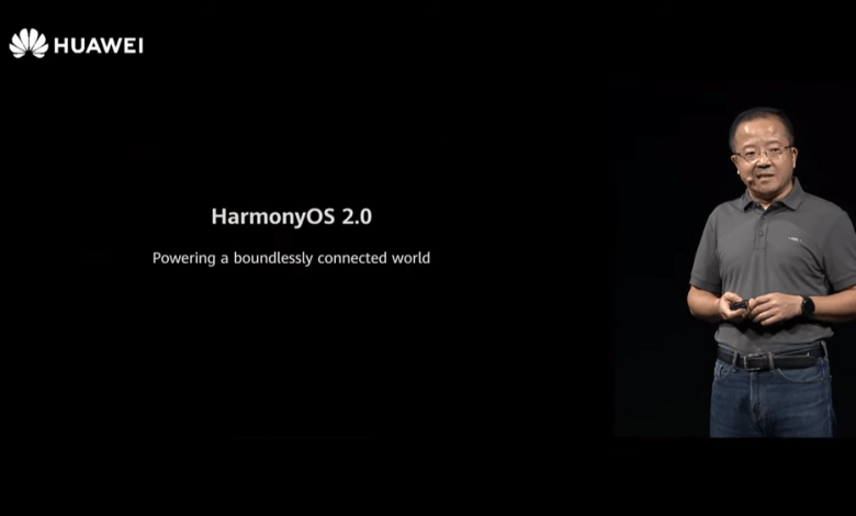 HarmonyOS 2.0 announement at Huawei Developer Conference