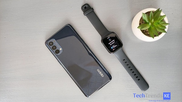 OPPO Reno4 and the OPPO Watch.