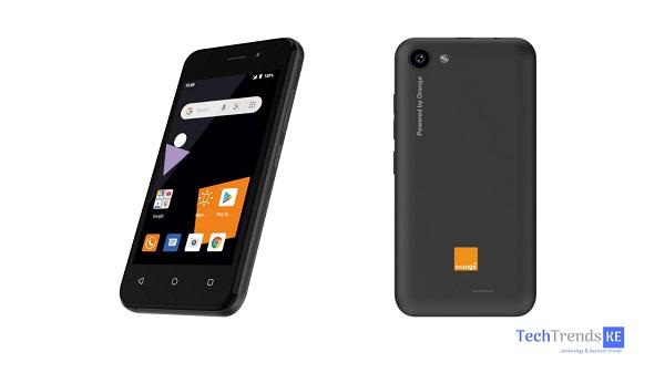 Orange Sanza touch smartphone