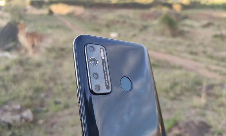 TECNO Camon 16 S rear camera setup