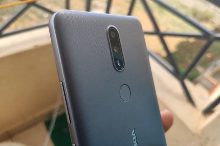 Nokia 2.4 rear view