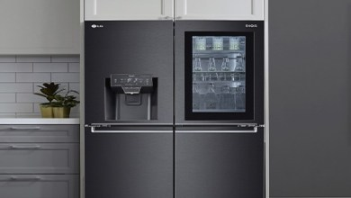 LG new InstaView Refrigerators features
