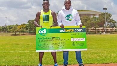 Odibets Supports Kenya's Fastest Man