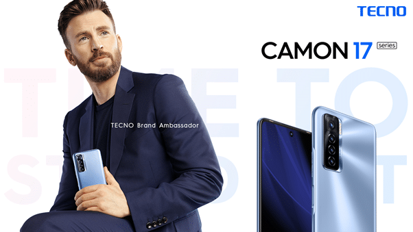 TECNO announces Hollywood Actor Chris Evans as its brand ambassador