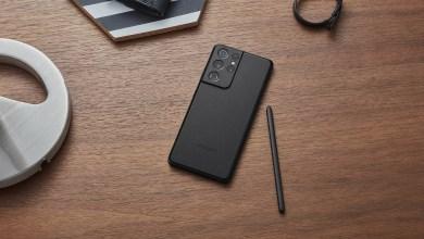 Samsung Galaxy S21 in black