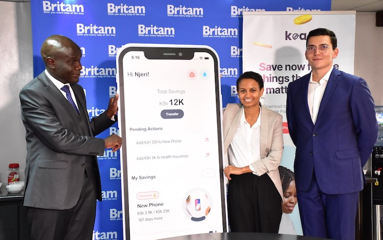 Britam and fintech app KOA partner to enable Kenyans access low risk investment opportunities