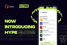 Opera launches interest-based social Clubs in its chat service, Hype