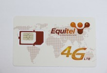 Equitel 4G services