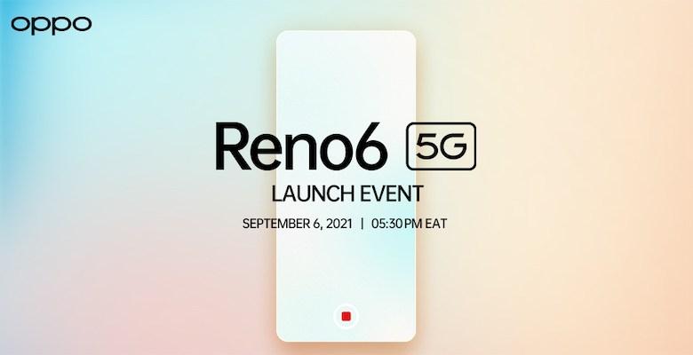 How To Watch OPPO Reno6 5G Launch in Kenya