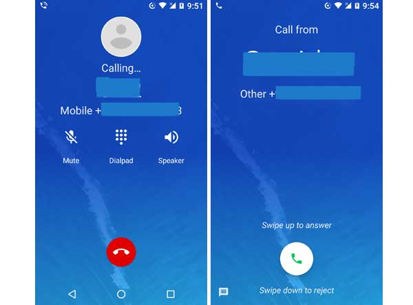 how to change outgoing caller id on moto z